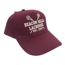 Beacon Hills Lacrosse Embroidered Baseball Cap
